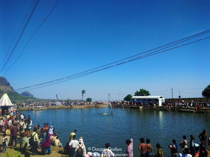 A Little Lake Saptashrungi Devi Temple Vani 11