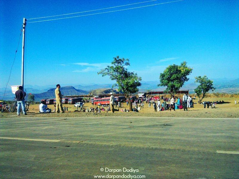 Parking Base Saptashrungi Devi Temple Vani 18