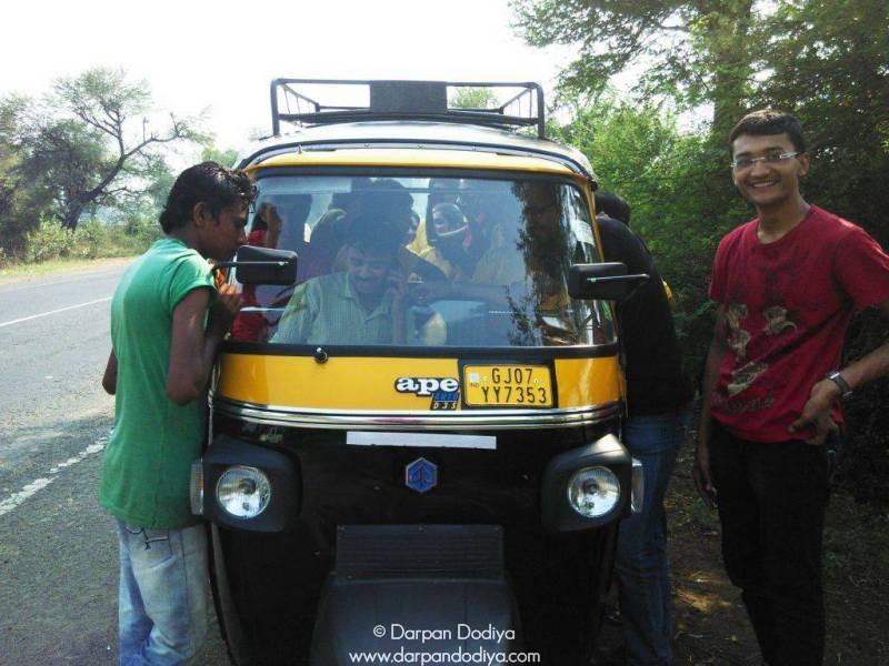 Rickshaw From Dakor to Galateshwar Mahadev Temple Near Dakor Gujarat 10