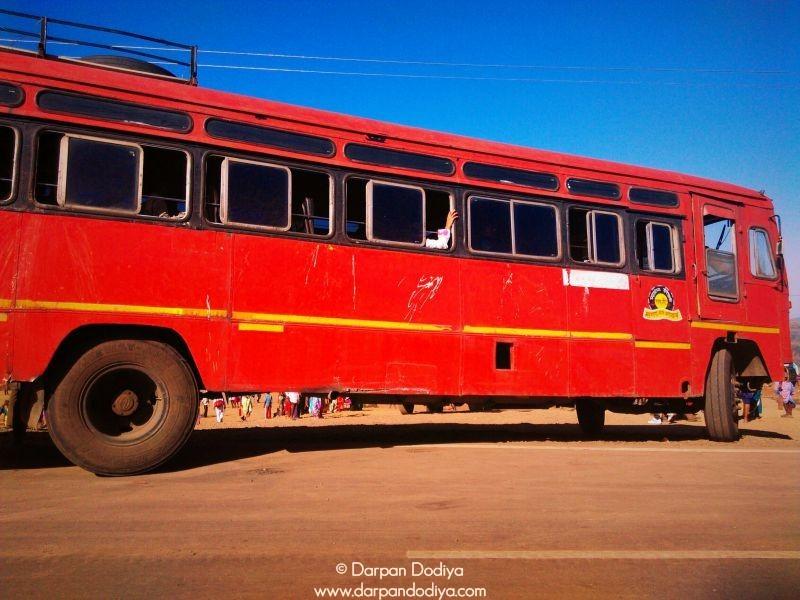 State Transport Buses Are Frequent Saptashrungi Devi Temple Vani 1