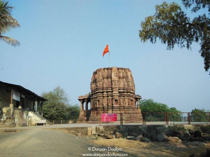 Temple Compound Galateshwar Mahadev Temple Near Dakor Gujarat 2