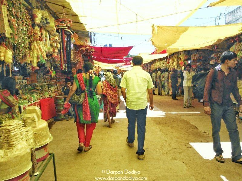 The Streets of Saptashrungi Devi Temple Vani 8