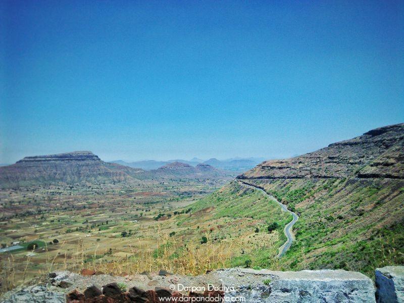 Zig Zag Path To Top Saptashrungi Devi Temple Vani 6