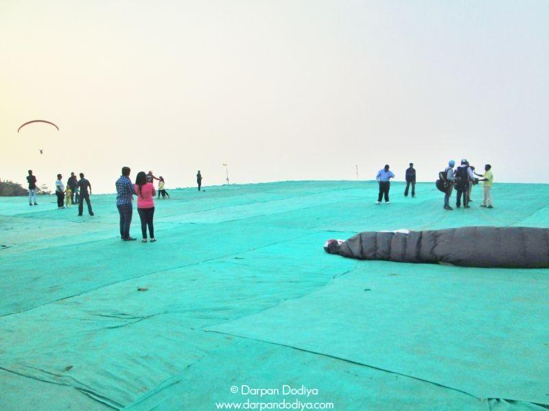 Venue Saputara Paragliding Festival Gujarat Hill Station Photos