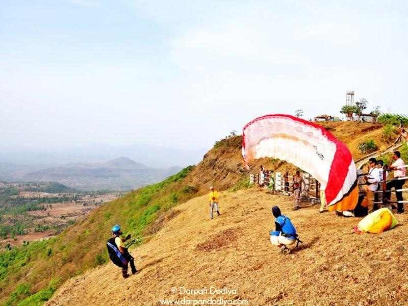 Take Off Saputara Paragliding Festival Gujarat Hill Station Photos