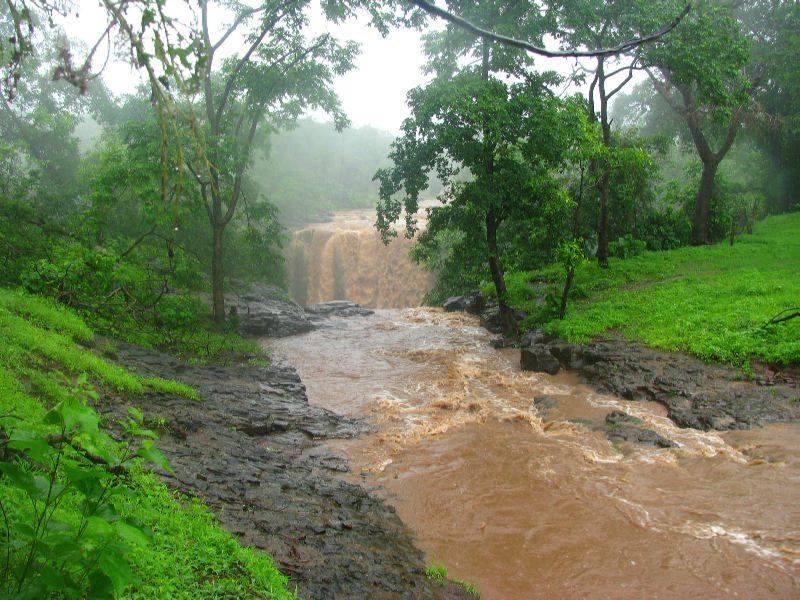 Chimer Fall, Songadh, Tapi (aka Chichkund Waterfall) - List of Waterfalls in South Gujarat