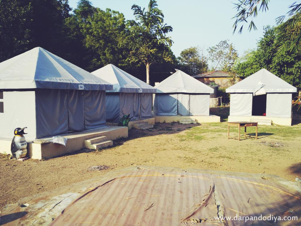 Tents - Kilad Campsite Vansda, Nature Education Eco Center Near Saputara, Gujarat