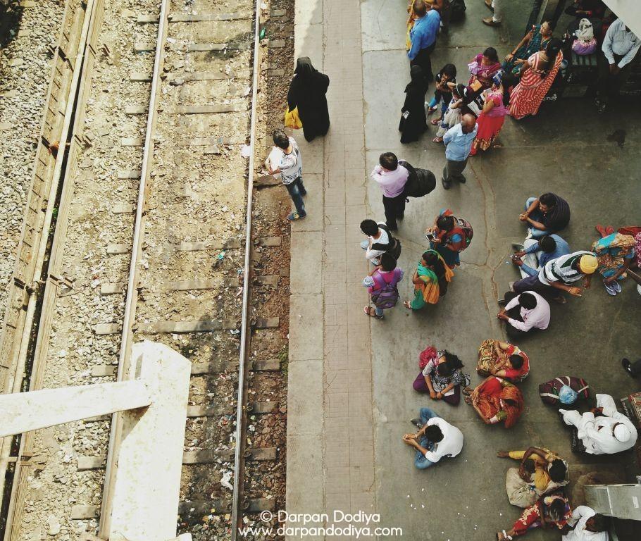 Random Photo Scribblings at Valsad Railway Station - 13
