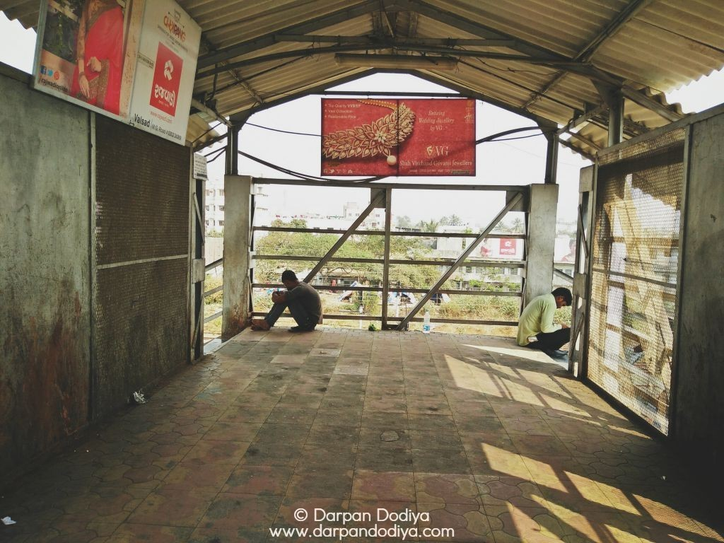 Random Photo Scribblings at Valsad Railway Station - 17