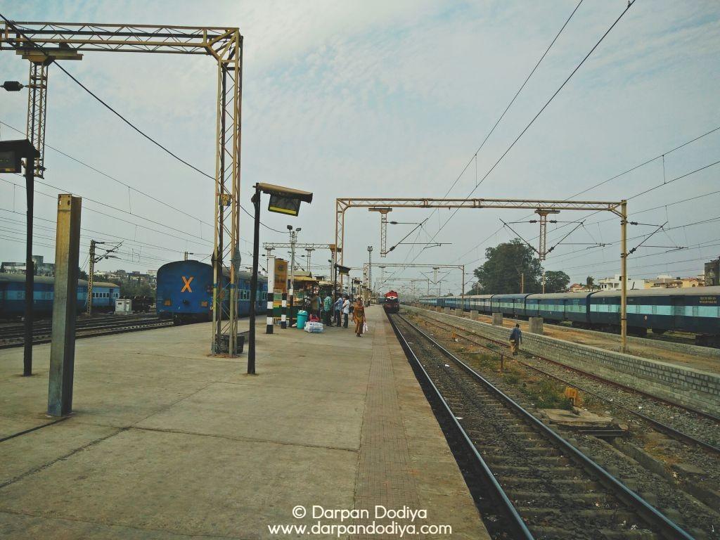 Random Photo Scribblings at Valsad Railway Station - 21