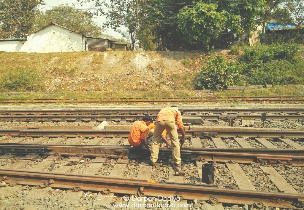 Random Photo Scribblings at Valsad Railway Station - 6