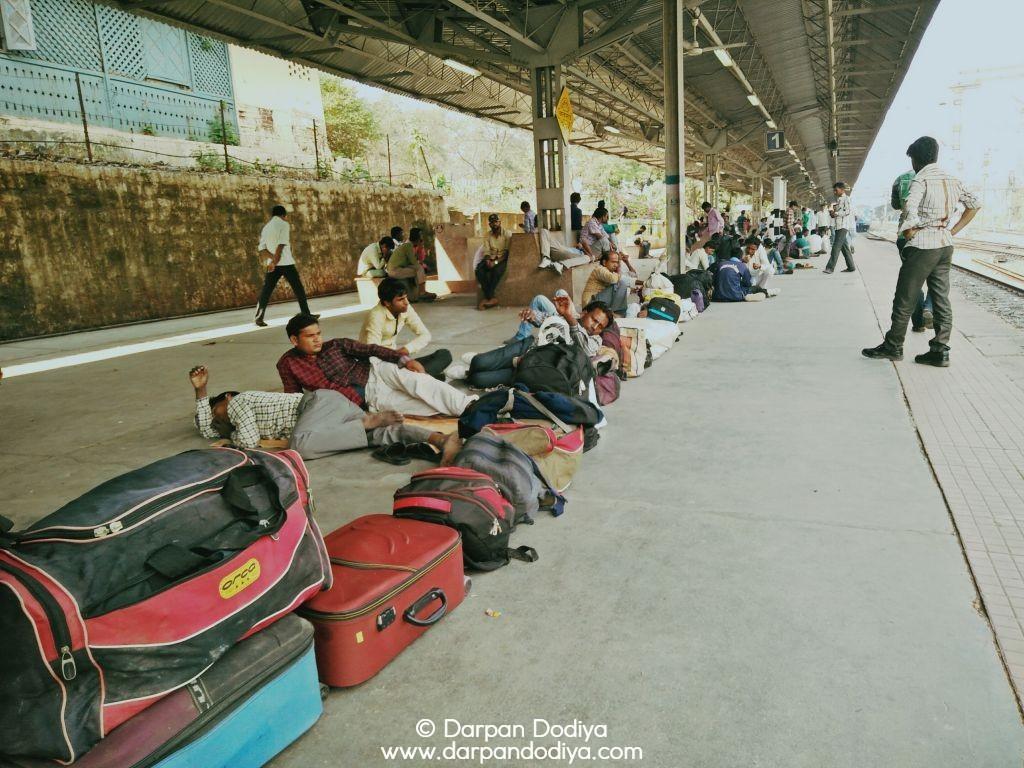 Random Photo Scribblings at Valsad Railway Station - 7